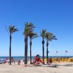 Blue Flag Roquetas beach and family play areas